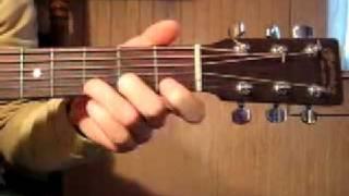 Tony Rice-style guitar lick #1