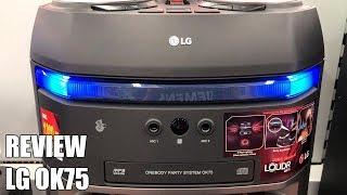 Review LG OK75 Nuevo Altavoz Bluetooth para fiestas 2018