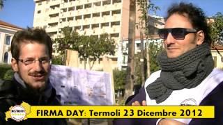 Firma Day TERMOLI - 23 Dicembre 2012