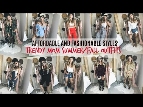 AFFORDABLE TRENDY MOM OUTFITS⎮SUMMER/FALL OUTFIT HAUL⎮JEANS WEARHOUSE HAWAII⎮BALLAN IN STYLE