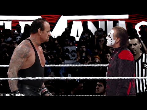 The Undertaker Vs Sting - YouTube