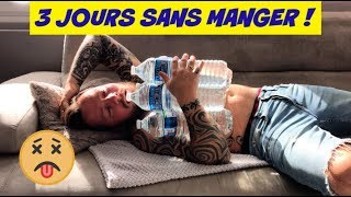 3 JOURS SANS MANGER !!!! TROP TROP DUR !!!!!