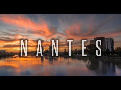 NANTES (FRANCE) COMME VOUS NE L'AVEZ JAMAIS VUE