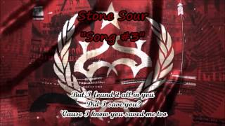 Song #3 by Stone Sour (lyric video)