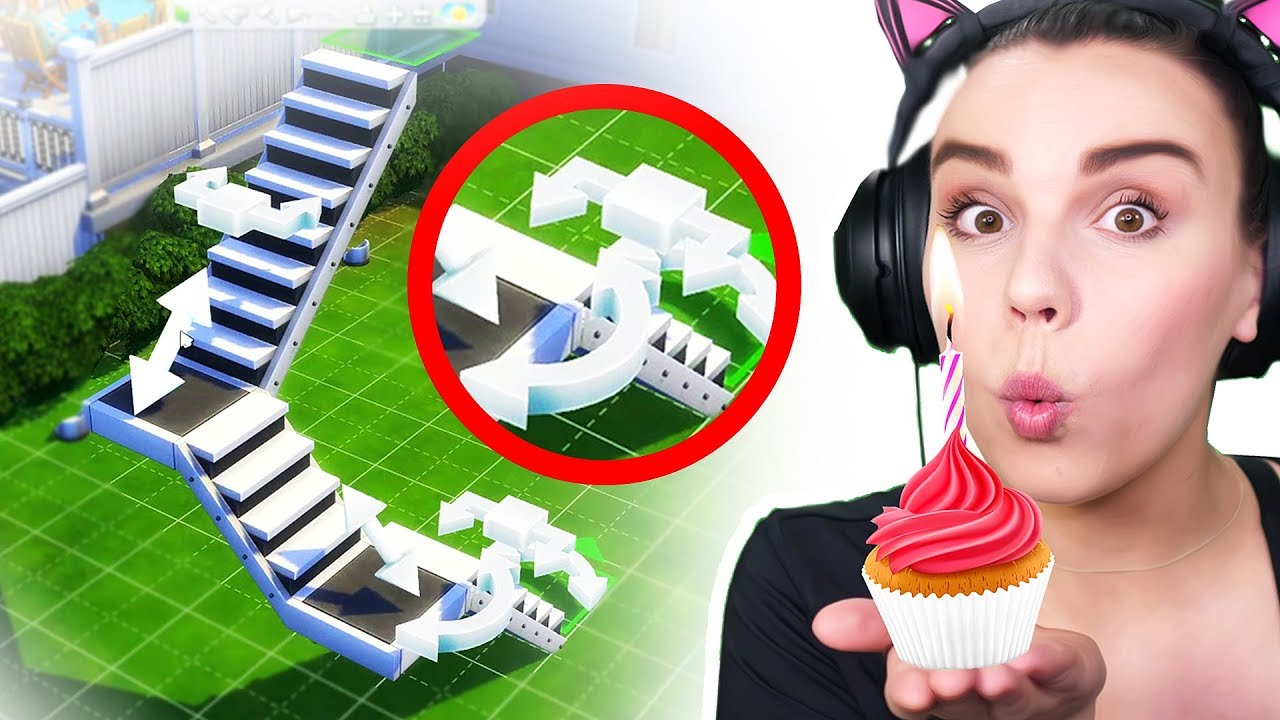 The Sims 4 Birthday Update!!! STAIRS, STAIRS, STAIRS.. PLUS MORE thumbnail