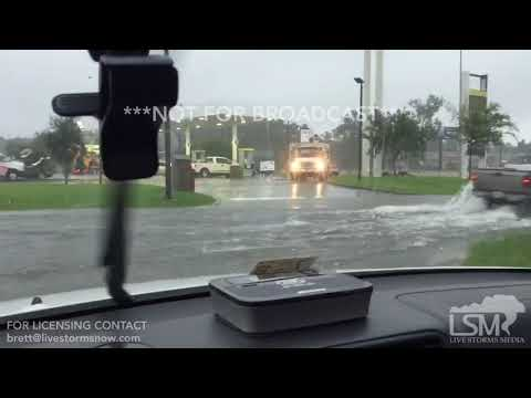 09-11-17 Savannah, GA - Flash flooding and Tropical Storm Force Winds from Irma