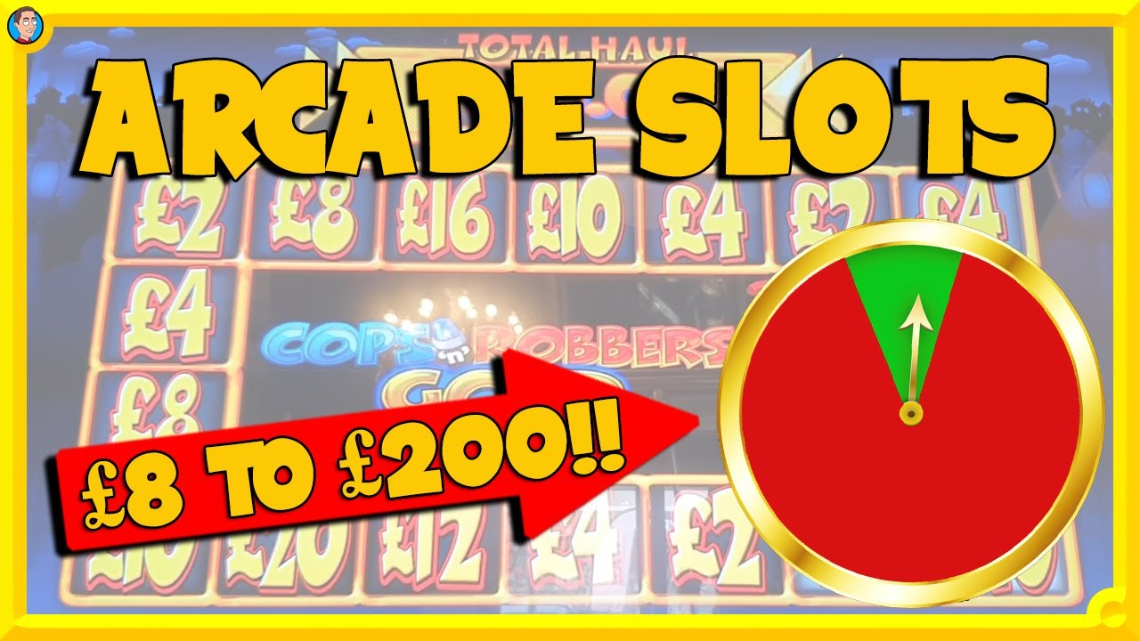 Arcade Slots with Reel King Multiplier, Cops n Robbers, Temple of Osiris & More!