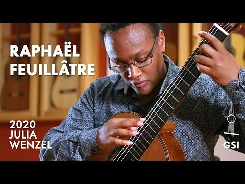 "Agustin Barrios Mangore's ""Vals Op. 8, No. 3"" played by Raphaël Feuillâtre on a 2020 Julia Wenzel"