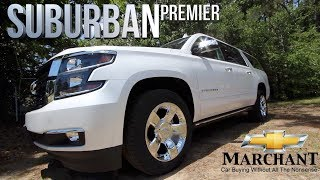 ⚫ Here's a Tour of this $74,000 2018 Chevrolet Suburban Premier | In Depth Review @ Marchant Chevy