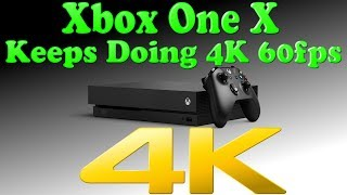 ANOTHER 4K & 60fps Game For The Xbox One X! The Beast Keeps Doing What Haters Say It Can't!