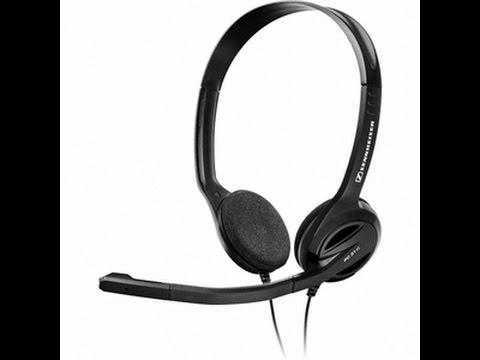 REVIEW - SENNHEISER HEADSET PC31-II MIC TEST