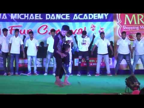 Nannaku Prematho Title Song/nitish dance...