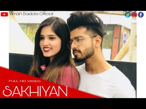 Sakhiyan song | Maninder Butter | Story Cover | Aman Badola Official