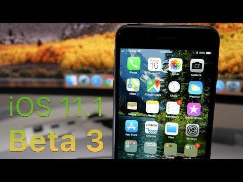 iOS 11.1 Beta 3 - What