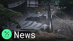 Floods in Japan Have Left at Least 50 Dead and Dozens Missing
