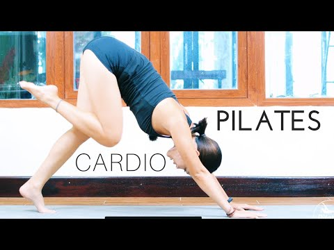 ����Double Fat Burn Cardio Pilates Workout | 50 Minute Full Length Pilates For Weight Loss | #PWH
