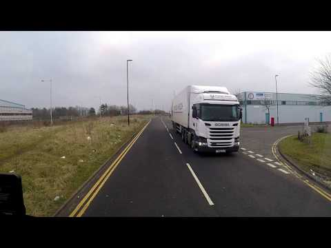 HGV Vlogging 81. On locals for  today.  knaresborough,  Northallerton and Gateshead