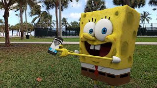 Cell Phone | SpongeBob In Real Life
