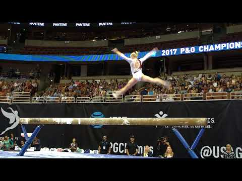 Abi Walker  Balance Beam  2017 P&G Championships  Senior Women  Day 2
