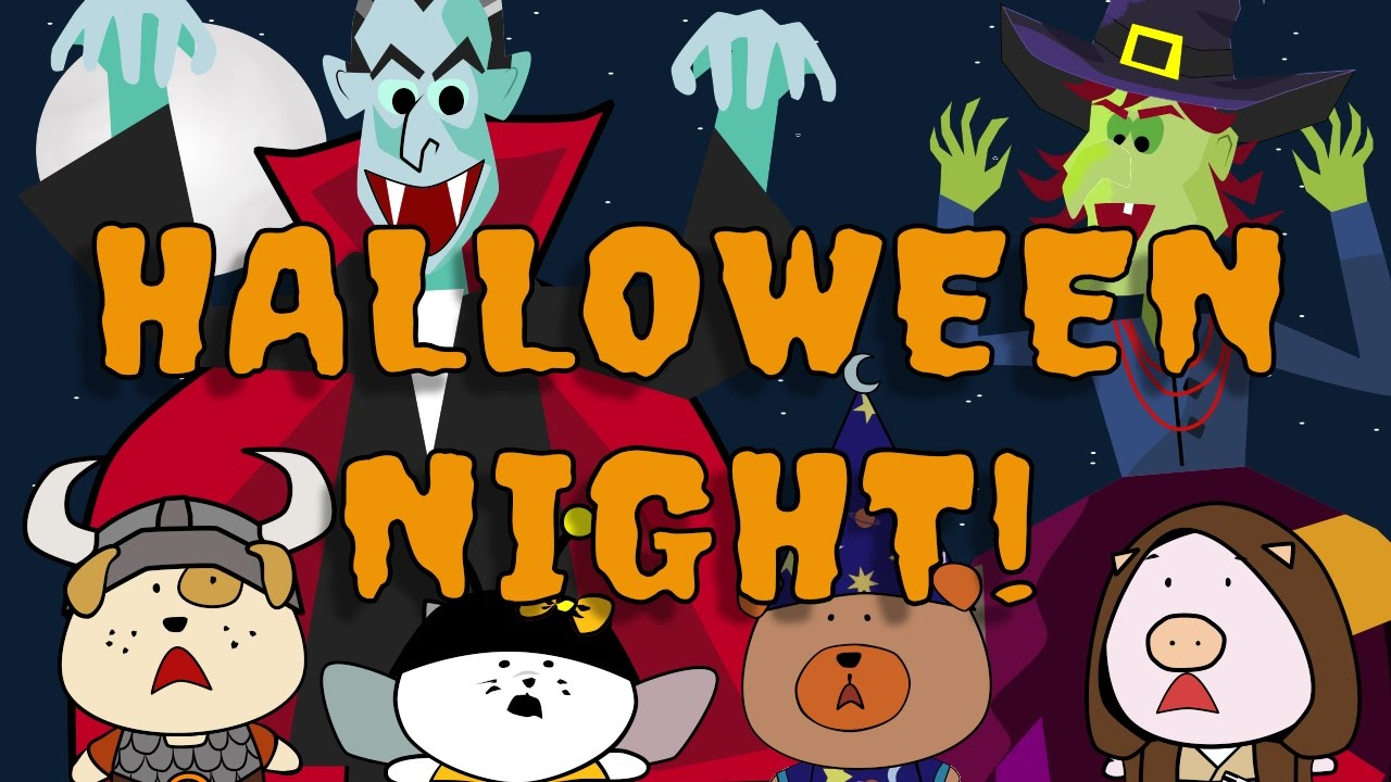 It S Halloween Tonight Halloween Song For Kids The Singing Walrus Youtube