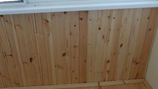 Отделка балкона Евровагонкой(Отделка балкона Евровагонкой своими руками. Недаром для отделки стен на балконе многие выбирают деревянну..., 2015-03-16T19:17:29.000Z)