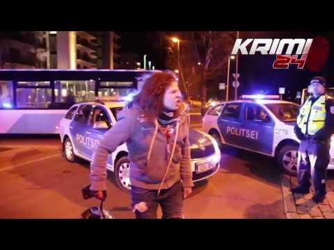Thumbnail: Police ramming motorcycle to end high speed chase in Tallinn, Estonia