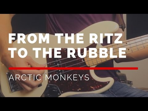From The Ritz To The Rubble - Arctic Monkeys (Bass Cover With Sheet Music) | BASSTRANSCRIPTIONS #13