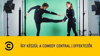 Így készül a Comedy Central   Effektezők
