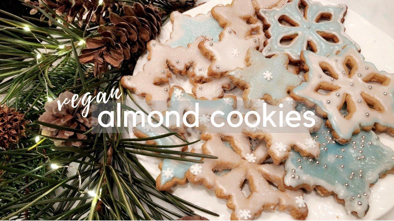 Vegan Almond Cookies Easy Delicious