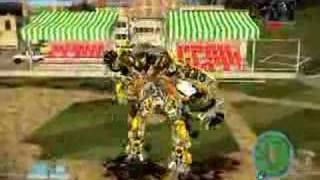 Transformers: Bumblebee vs Barricade