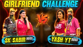 SK SABIR BOSS vs YASH YT - GIRLFRIEND FACE reveal challenge  😂❤️