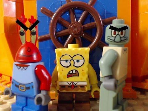 lego spongebob can you spare a dime?