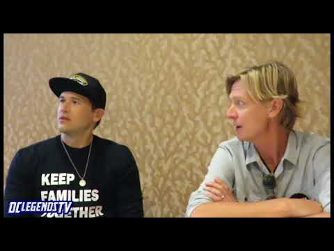Nick Zano & EP Phil Klemmer  DC's Legends of Tomorrow Season 4  ComicCon 2018