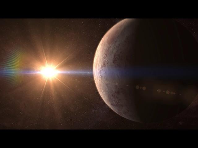 Supertierra GJ 536 b orbitando su estrella GJ 536