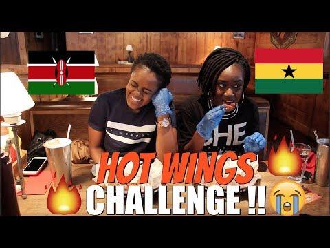 HOT WINGS CHALLENGE I KENYA vs GHANA !!