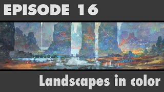 painting a colorful landscape bst ep16