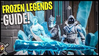 FROZEN LEGENDS PACK *TOTALLY WORTH* Cosmetic Guide - Fortnite