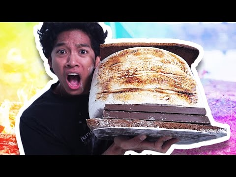 DIY GIANT S'MORES
