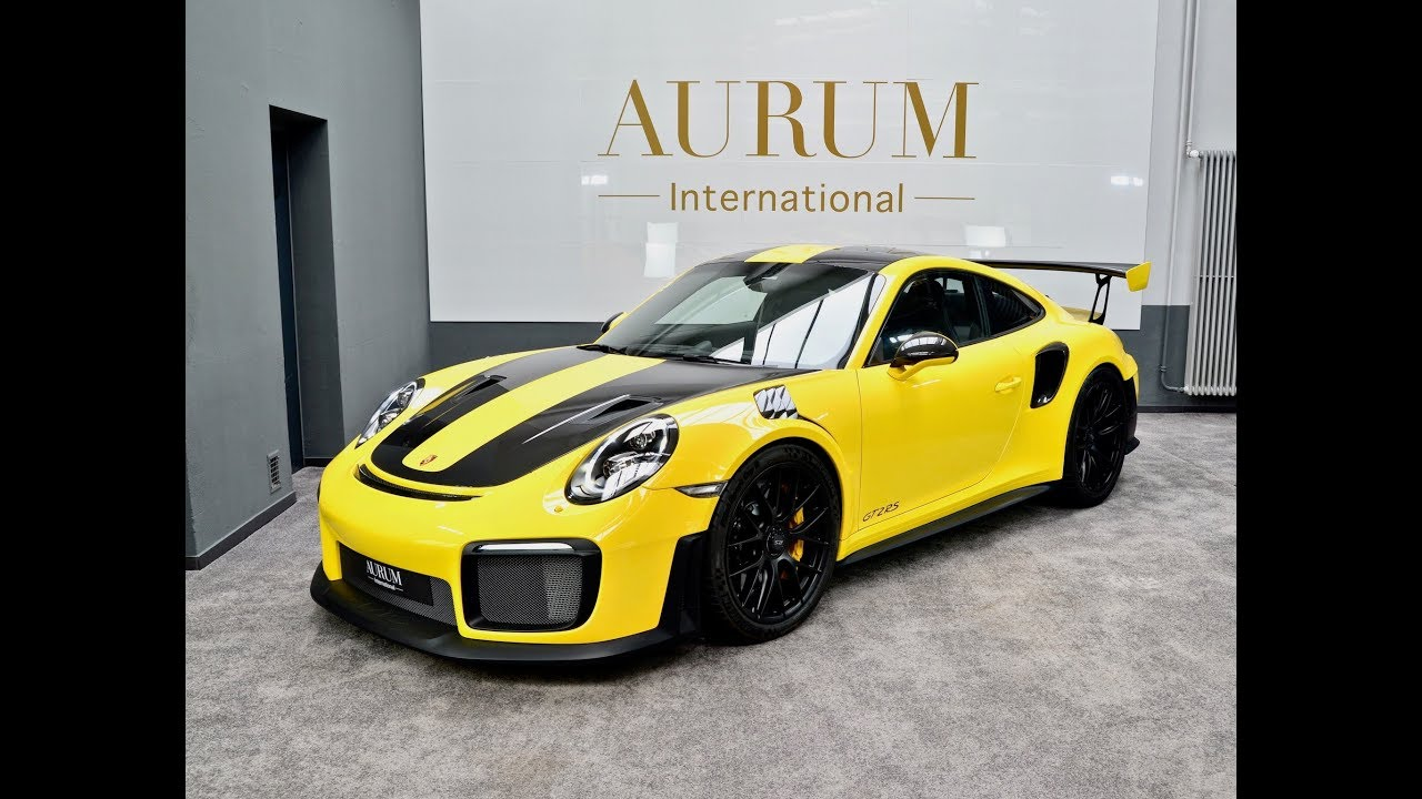 2019 Porsche Gt2 Rs 911 991 Weissach Racing Yellow Walkaround By Aurum International Youtube