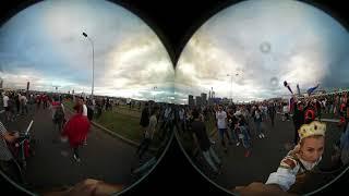 Фан-зона Москва. 360 VR. Матч Россия-Хорватия. 6