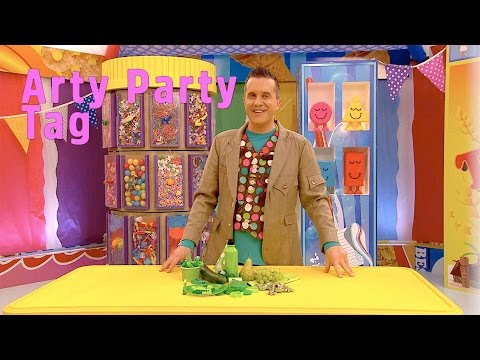 Arty Party Tag | Mister Maker