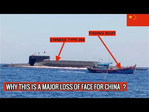CHINESE TYPE 094 JIN CLASS SUBMARINE HAD TO SURFACE || DEFENSE UPDATES