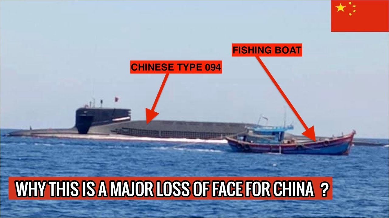 Chinese Type 094 Jin Class Submarine Had To Surface Defense Updates Youtube
