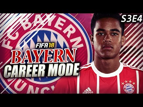 POOR FORM STRIKES BAYERN! KLUIVERT IS A SUPER SUB!!! - FIFA 18 Bayern Career Mode S3E4