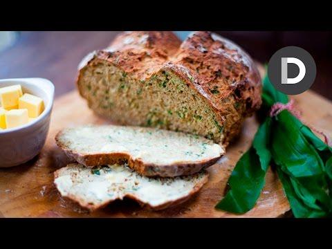 Wild Garlic Irish Soda Bread