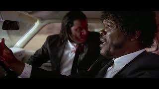 Разговор Джулса и Винсента. Несчастный случай в машине. Дом Джимми. HD