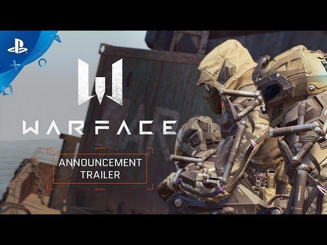 Warface - Announcement Trailer | PS4