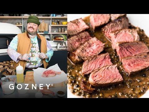Steak au Poivre | Guest Chef: Matty Matheson | Roccbox Recipes | Gozney