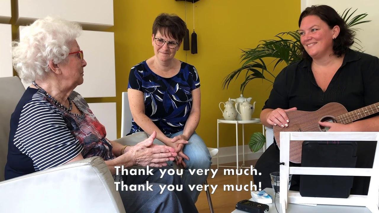 Music Therapy For Dementia And Carers Muziekagogie Muziektherapie Bij Dementie En Mantelzorg Engels Youtube
