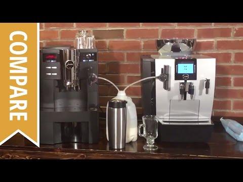 Compare: Jura XS90 And Jura XJ9 Professional Espresso Machines